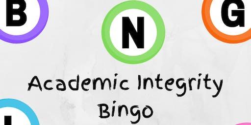 Academic Integrity Bingo