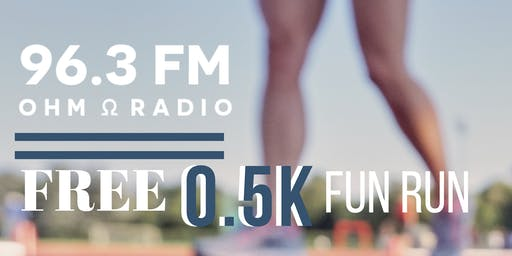 Ohm Radio 0.5K Fun Run
