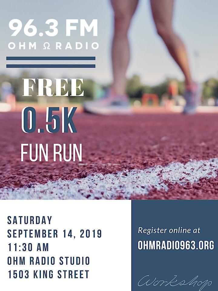 Ohm Radio 0.5K Fun Run image