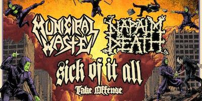 Napalm Death / Municipal Waste