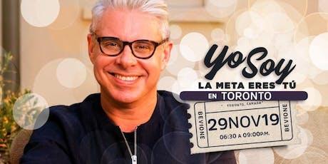 Conferencia «YO SOY. La Meta Eres TU» con JULIO BEVIONE tickets