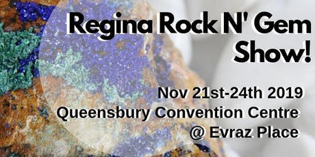 The Fall Regina Rock n' Gem Show tickets