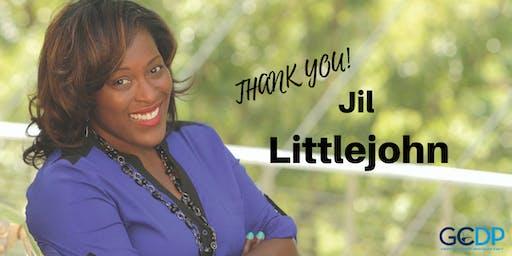 Thank you, Jil Littlejohn