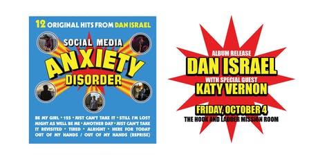 Dan Israel Album Release  with Katy Vernon tickets
