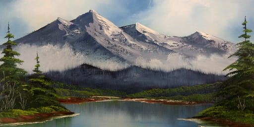 Bob Ross Oils Class Tues August 27th 9:00am - 3:00pm $65 Includes Materials