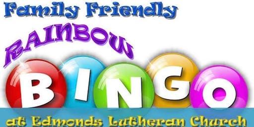Family Friendly Rainbow Bingo for Special Olympics