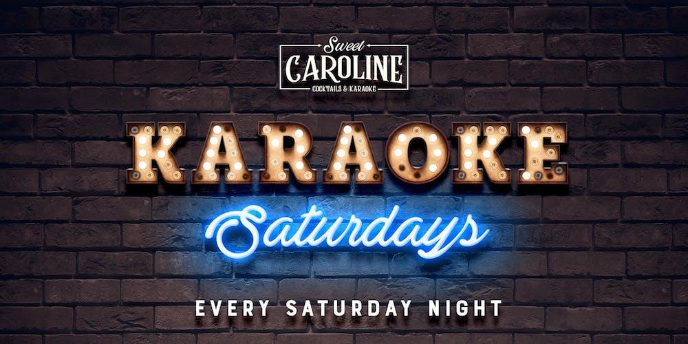 Karaoke Saturdays at Sweet Caroline - Miami's Best Karaoke