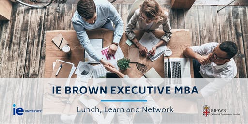 Lunch & Learn: IE Brown Executive MBA - Vancouver