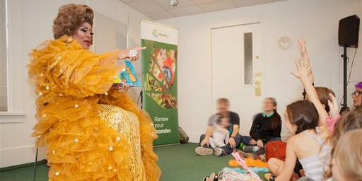 St. James Child Development Center Drag Queen Storytime w/ Poison Waters