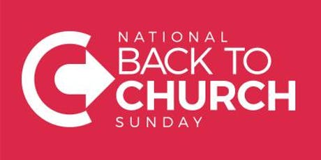 Back to Church Sunday tickets