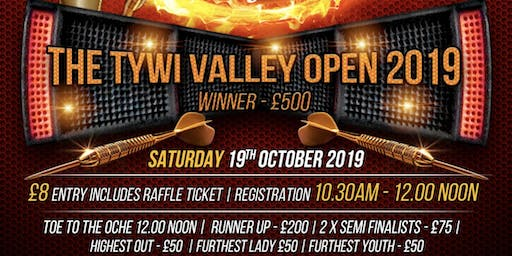 The Tywi Valley Darts Open 2019