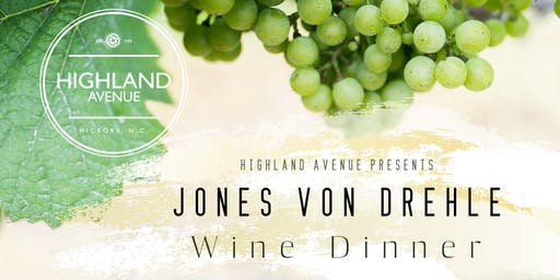 Jones von Drehle Wine Dinner