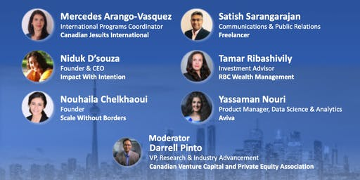 Lessons Learned From Moving to Canada - In Conversation With Immigrant Leaders (Limited space, RSVP req'd)