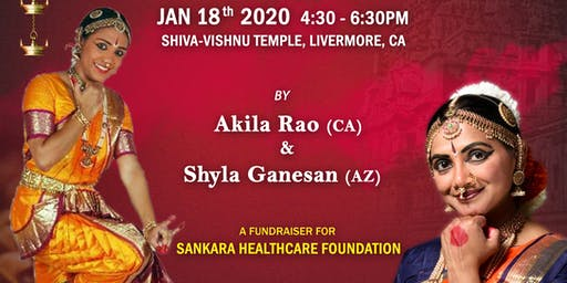 Sanmarga - The Good Path: A Sankara Healthcare Foundation Dance Fundraiser