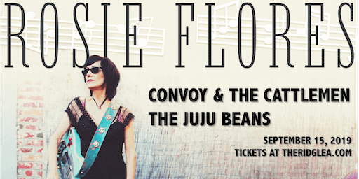 Rosie Flores, Convoy and the Cattlemen, The JuJu Beans in the Room