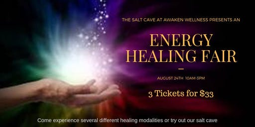 Energy Healing Fair at SCAW