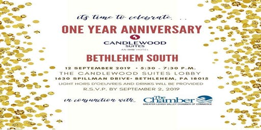 Candlewood Suites Bethlehem South One Year Anniversary Celebration