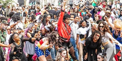 """Flash Mob New Orleans - 8th Annual Thriller Flashmob """"Majestic Fright In The Sunlight"""" Workshop Experience2019 September 7, 2019 - October 31, 2019. Saturday's 3:30 - 4:30pm"""