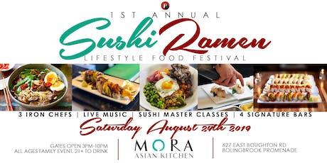 1st Annual Sushi Ramen Festival tickets