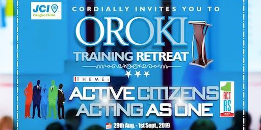 JCI Osogbo Oroki Training Retreat