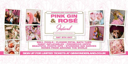 Pink Gin Festival and Rose Wonderland - Portsmouth