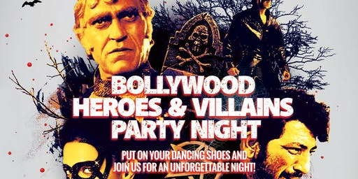 Halloween Special: Bollywood Heroes & Villains Party Night!