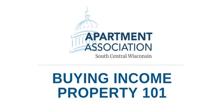 Buying Income Property 101 tickets
