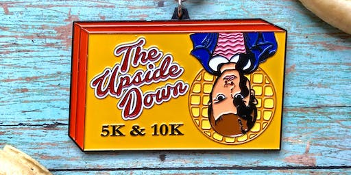 Only $15! 2019 The Upside Down 5K and 10K -Wichita