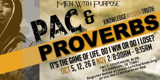 Pac and Proverbs
