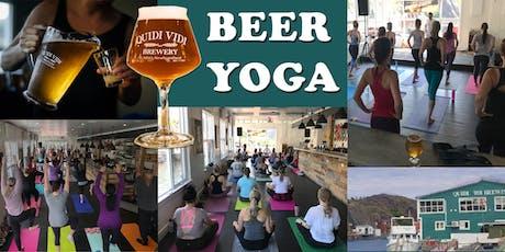 Beer Yoga Aug 24 @ Quidi Vidi Brewery! tickets