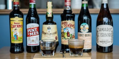 Amaro and Coffee Tasting