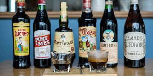 Vermouth + Espresso Tasting