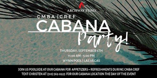 Archway Fund CMBA CREF Cabana Party | Wynn, Las Vegas