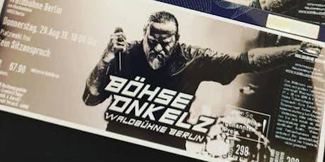 Böhse Onkelz Berlin Waldbühne tickets