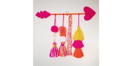 Summer Holiday Craft Workshop for teenagers - Beaded Yarn wall decor tickets