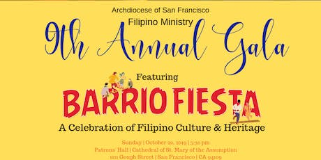 Filipino Ministry's Ninth Annual Gala tickets