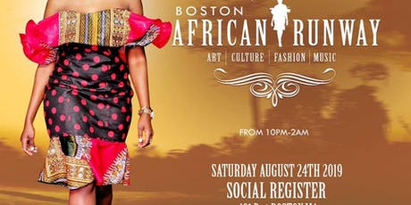 Boston African Runway tickets
