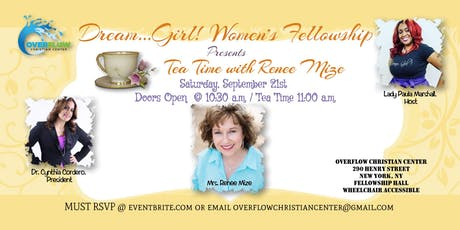 Dream...Girl! Women's Fellowship Tea tickets