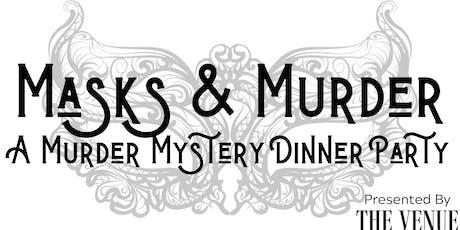 Masks & Murder - A Murder Mystery Dinner Party tickets