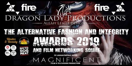 The Annual Integrity Awards, Fashion Showcase & Film Networking Soirée 2019 tickets