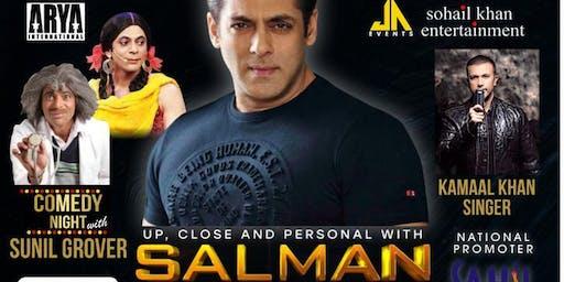 Meet Bollywood King Salman Khan LIVE in NJ and Comedy King Sunil Grover
