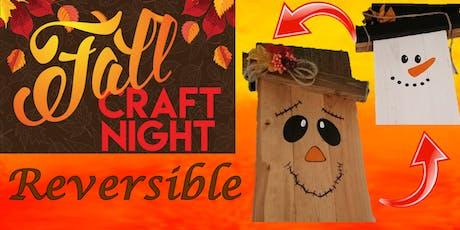 "Craft Night, Paint Night ""Reversible Door Decoration"" tickets"