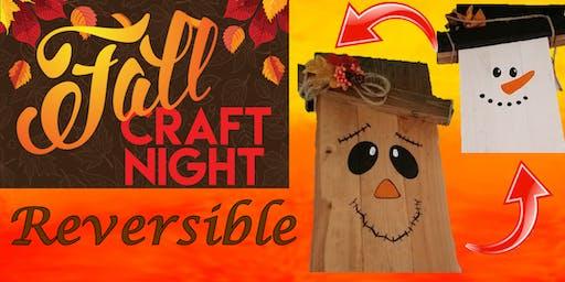 "Craft Night, Paint Night ""Reversible Door Decoration"""