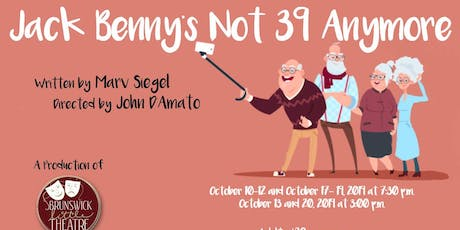 Jack Benny's Not 39 Anymore tickets