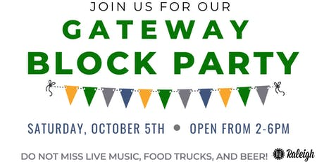 Gateway Block Party tickets