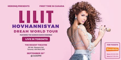 Lilit Hovhannisyan live in Toronto tickets