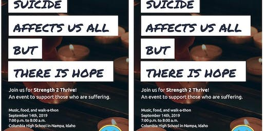 Strength 2 Thrive Suicide Prevention Walk