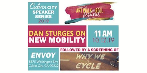 Culver City Speaker Series at the Art Walk & Roll Festival