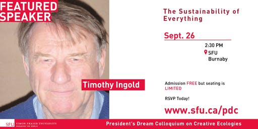 President's Dream Colloquium: Timothy Ingold