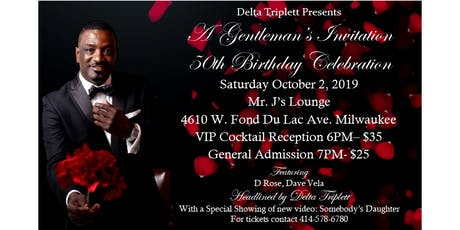 Delta Triplett Presents: A Gentleman's Invitation tickets